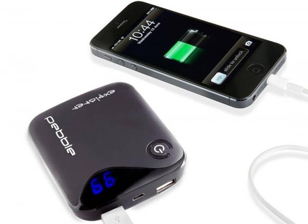 Baterie externa Pebble Explorer de 8400 mAh