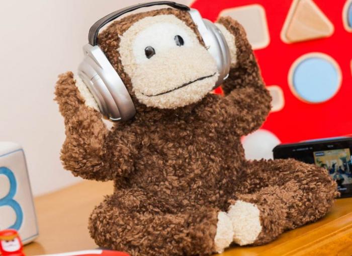 Boxa in forma de maimuta