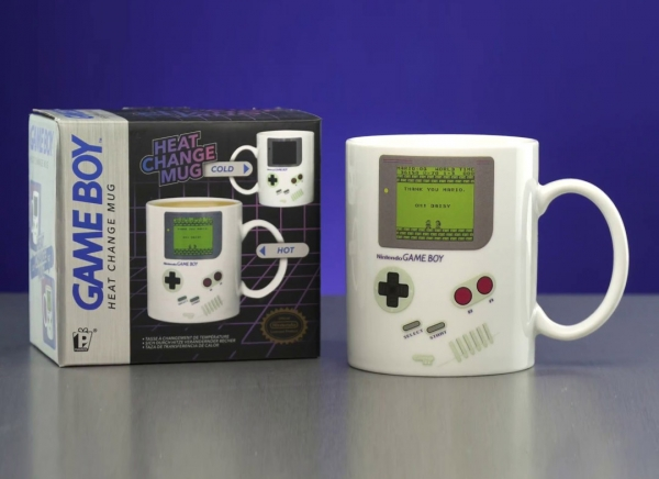 Cana termosensibila Game Boy