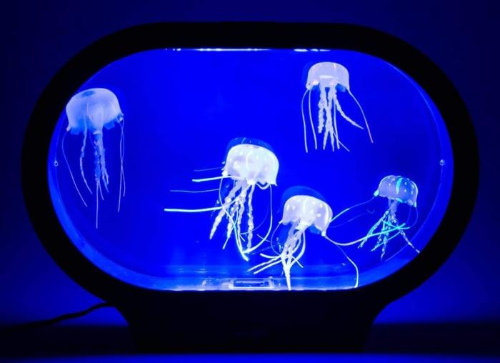 Lampa ovala cu meduze