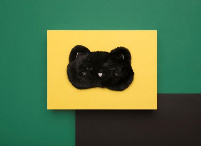 Masca de dormit Pisicuta Pufoasa