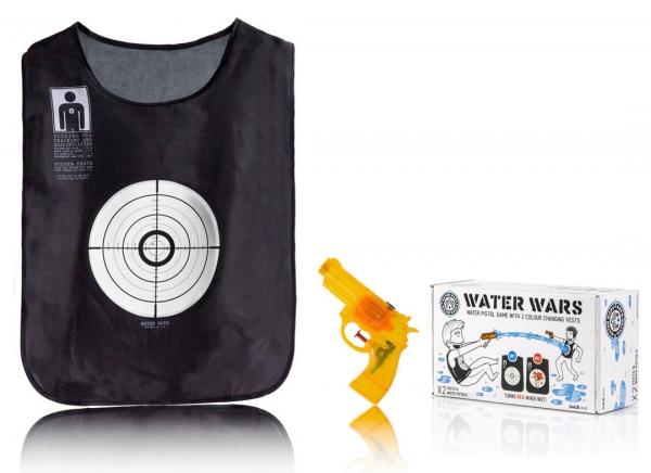 Set Water Wars: doua veste si doua pistoale cu apa