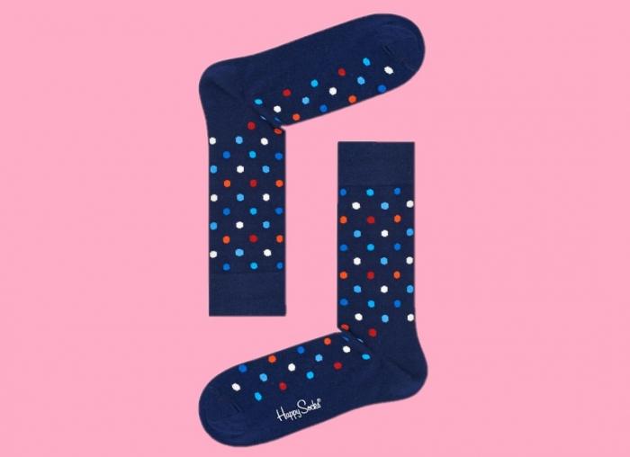 Sosete Happy Socks cu buline colorate
