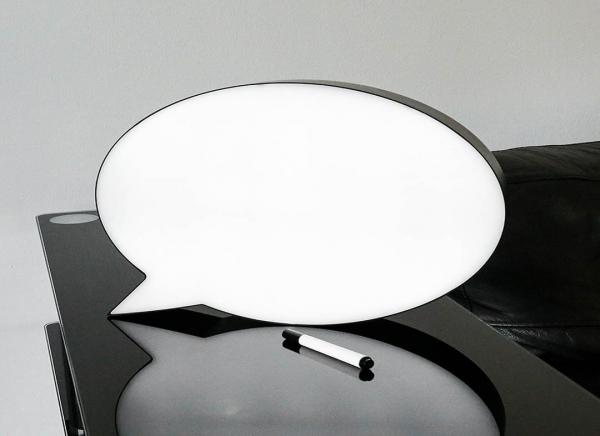 Speech Bubble Light