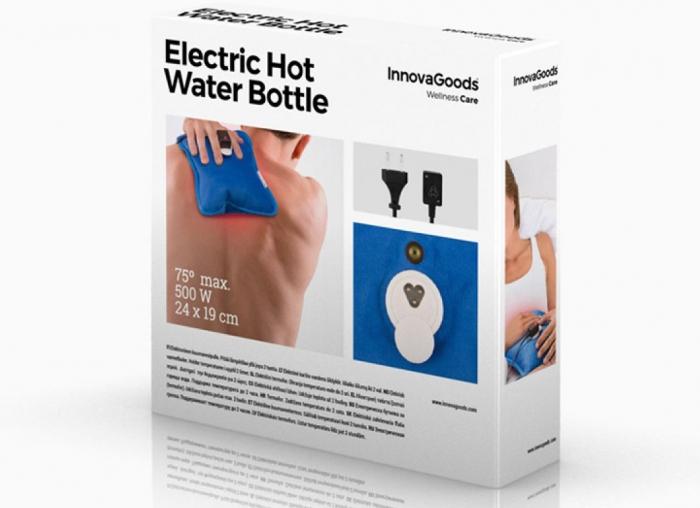 Sticla electrica cu apa calda