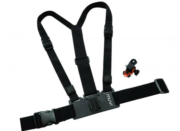 Suport tip ham pentru K-Series, Veho Muvi HD & Muvi Micro cu suport si sistem de prindere pe trepied