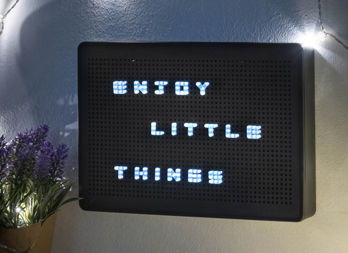 Tabla pentru mesaje personalizate