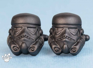 Butoni camasa Storm Trooper Black