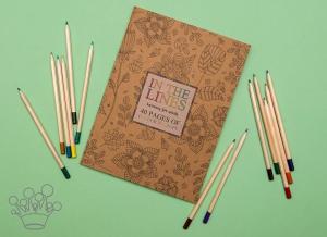 Carte de colorat pentru adulti A4 Armonie