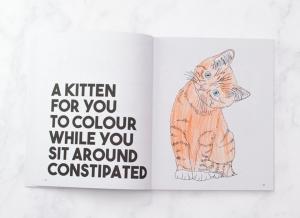 Carte de colorat pentru gravide
