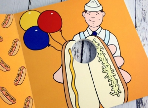 Carte ilustrata Penis Pokey