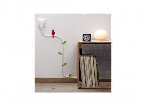 Cleme decorative de perete pentru cabluri