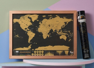 Harta razuibila Deluxe portabila- varianta mini