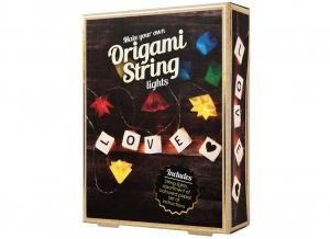 Instalatie de lumini Origami DIY