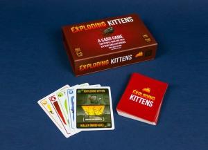 Joc de Carti Exploding Kittens