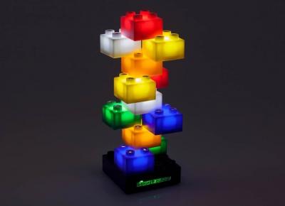 Joc Cuburi cu LED-uri