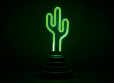 Lampa Neon Cactus