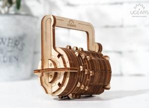 Puzzle 3D Cifru din Lemn Ugears