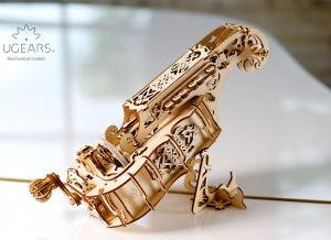Puzzle 3D Instrument Muzical - Vioara din Lemn Ugears