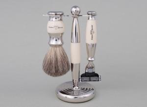 Set de barbierit 3 piese Ivory Mach3 Edwin Jagger