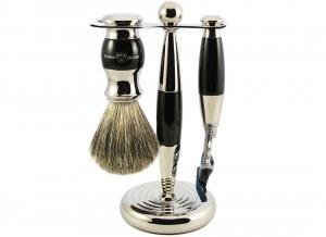 Set cadou barbati pentru barbierit 3 piese Light Horn Fusion Proglide, Edwin Jagger