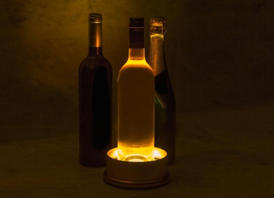 Suport pentru sticla iluminator