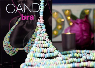 Lenjerie comestibila Candy Bra & G-String