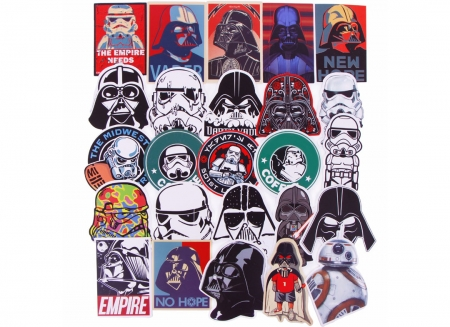 Set 25 stickere laptop Star Wars