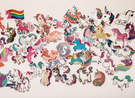 Set 50 stickere laptop Unicorni