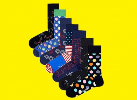 Set Sosete Happy Socks Funny Zilele Saptamanii