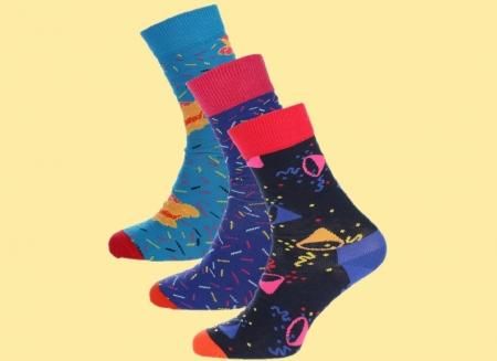 Set Sosete Happy Socks Vesele Aniversare