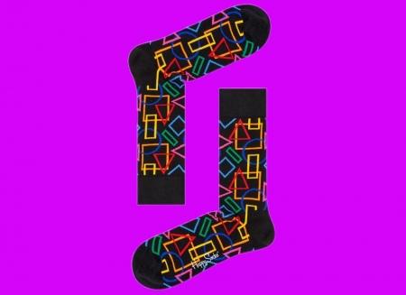 Sosete geometrice Happy Socks