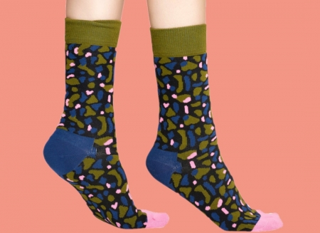 Sosete Happy Socks camuflaj Wiz Khalifa