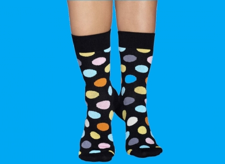 Sosete Happy Socks cu buline vesele
