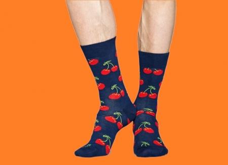 Sosete Happy Socks cu cirese