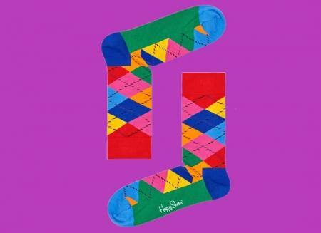 Sosete Happy Socks cu romburi