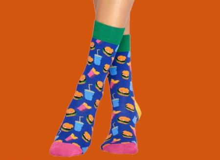 Sosete Happy Socks Hamburger
