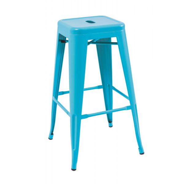 Scaun Bar SL Long albastru