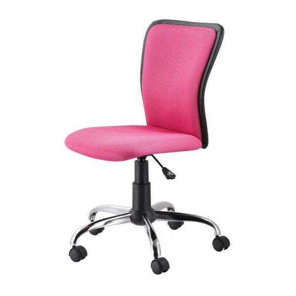 Scaun birou copii mesh SL Q099 roz