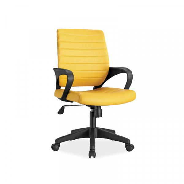 Scaun birou SL Q051 galben