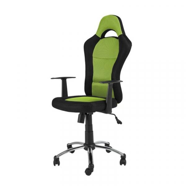 Scaun directorial SL Q039 negru - verde