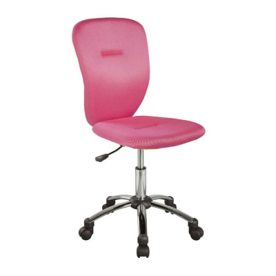 Scaun birou copii SL Q037 roz