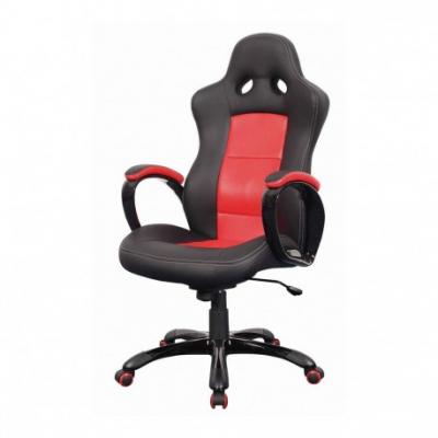 Scaun directorial SL Q029 negru - rosu