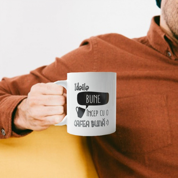 Cana Ideile Bune Incep Cu O Cafea Buna 250 ML 1