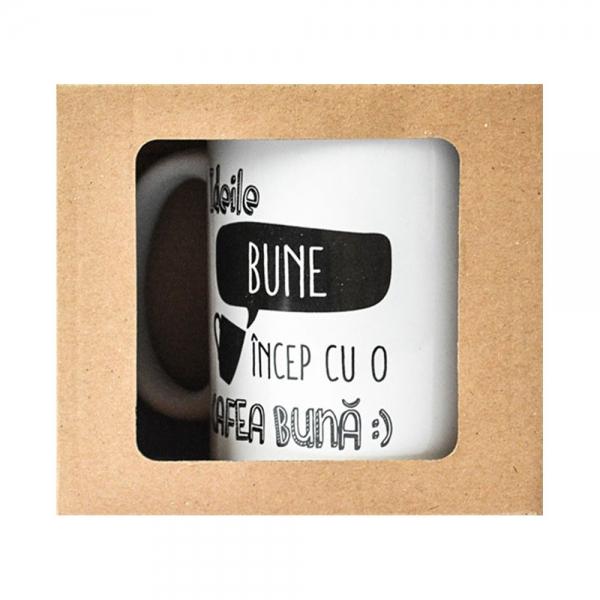 Cana Ideile Bune Incep Cu O Cafea Buna 250 ML 15