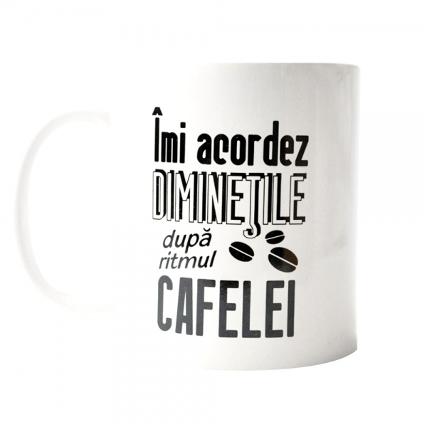 Cana Imi Acordez Diminetile Dupa Ritmul Cafelei 250 ML 6