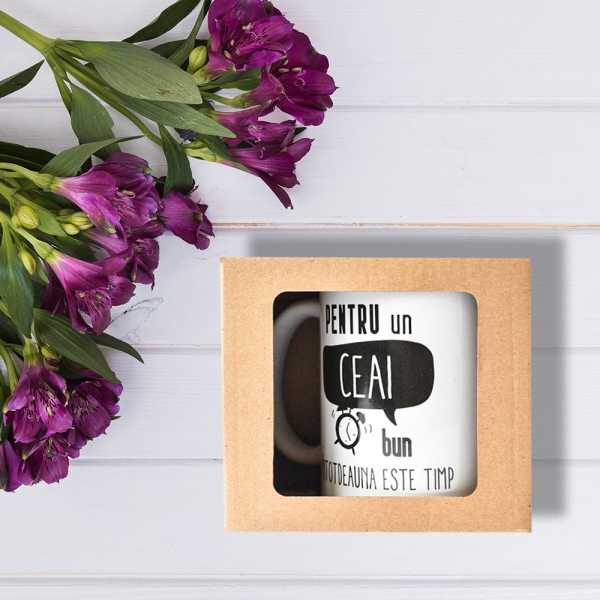 Cana Pentru Un Ceai Bun Intotdeauna Este Timp 250 ML 0
