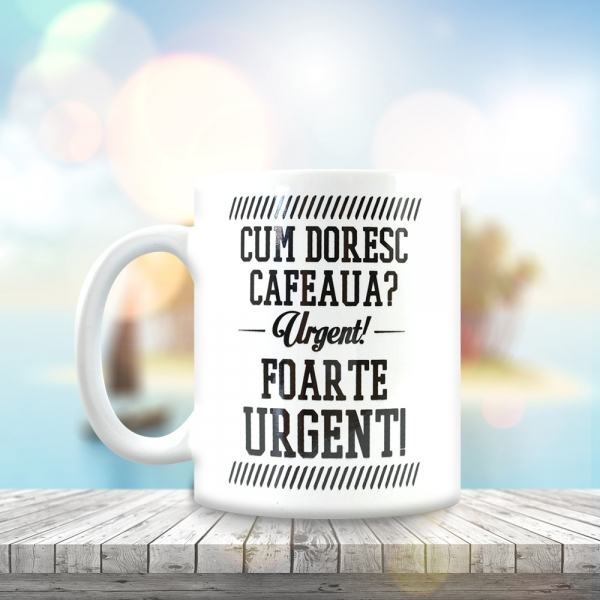 Cana Cum Doresc Cafeaua? 250 ML 10
