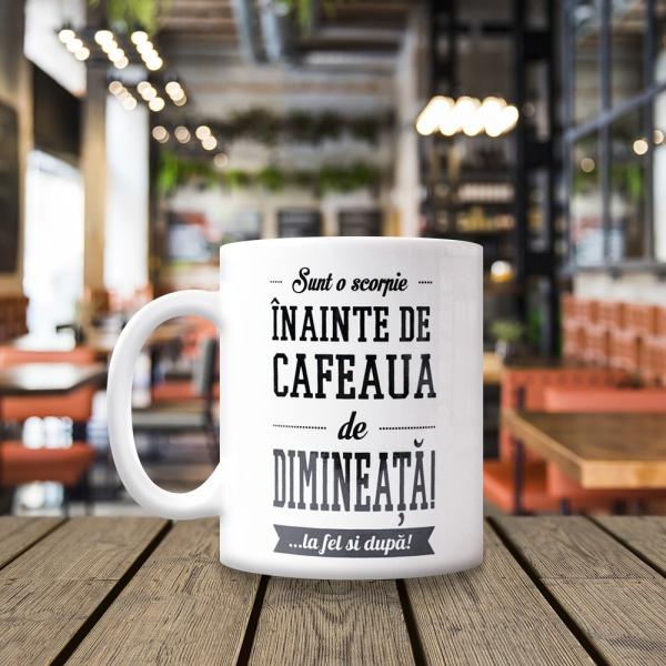 Cana Sunt O Scorpie Inainte De Cafeaua De Dimineata! 250 ML