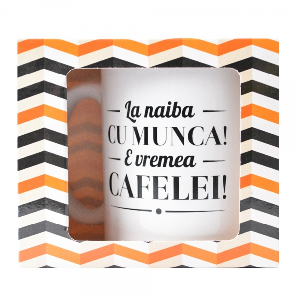 Cana La Naiba Cu Munca! E Vremea Cafelei! 250 ML 3